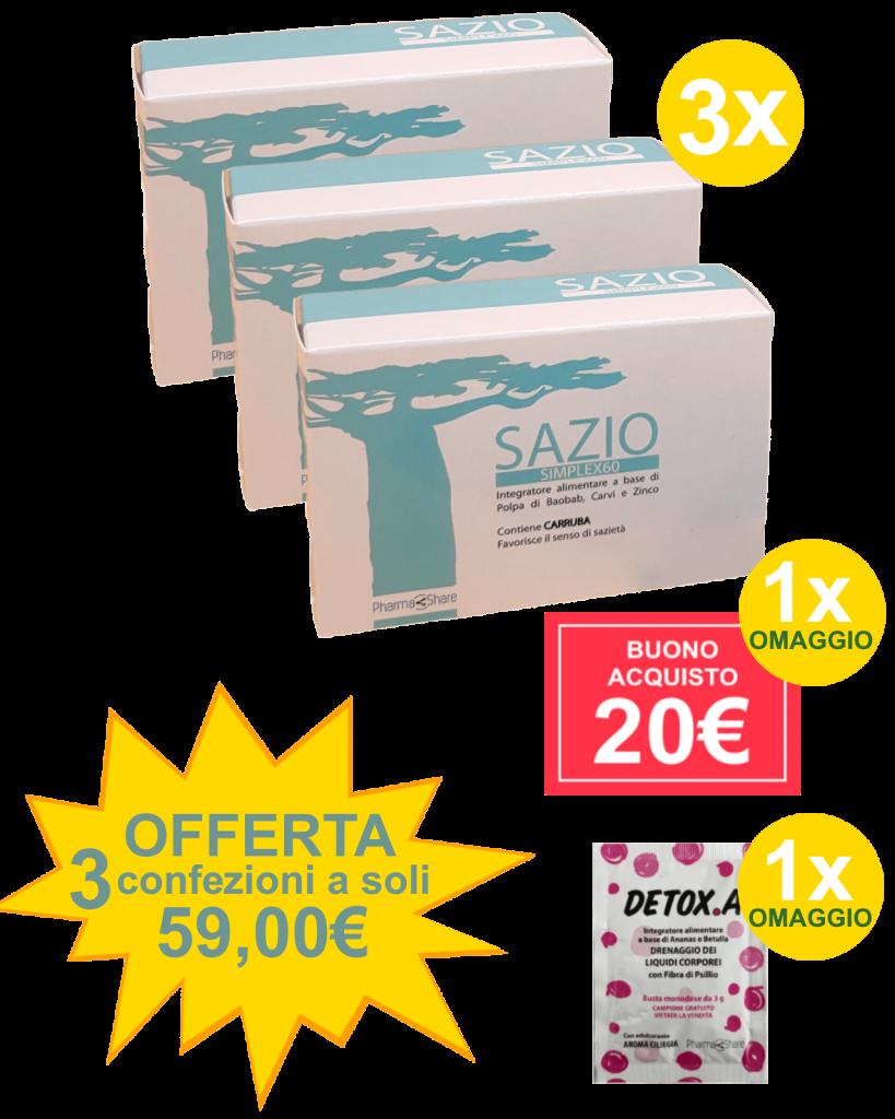 sazio simplex 3x1